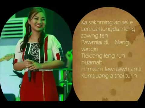 Rachel Lalnunkimi -  Ka Phur Zo Lo  (Lyrics video)