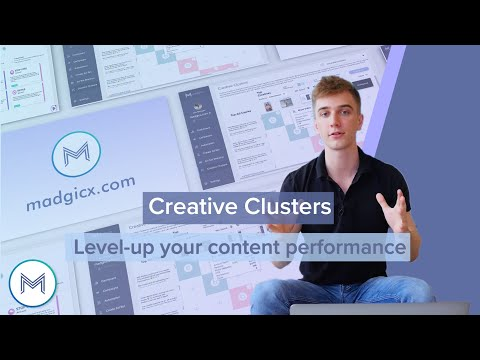 5.1 Creative Clusters - <br>Level up your content performances