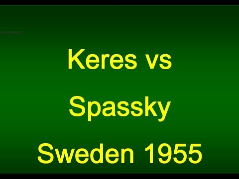 Keres vs Spassky System of Queen's Indian Defense