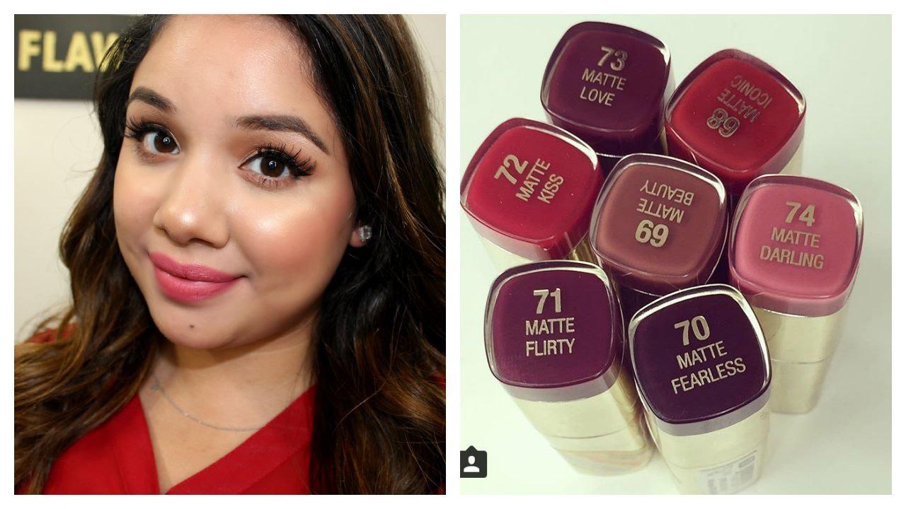 milani matte lipstick flirty 7 milani color statement matte lipsticks bundle deal -61 matte naked -67 matte confident -69 matte beauty -74 matte darling -70 matte fearless -71 matte flirty -73 matte love note: cheaper over at ⓜ️ercari.