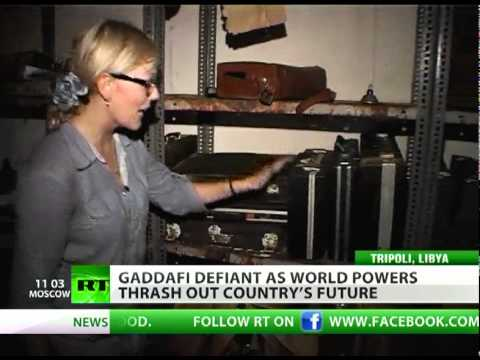 Final Chase: RT in Gaddafi's top secret bunker