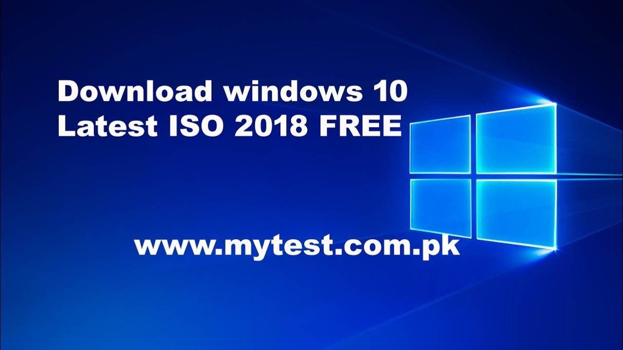 windows 10 download for free 2018