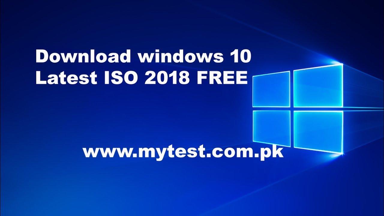 latest iso of windows 10