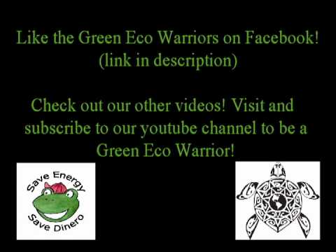Green Eco Warriors: I Love Planet Earth