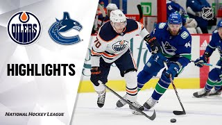 Oilers @ Canucks 5/4/21 | NHL Highlights