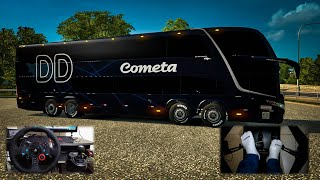 Ônibus Viação Cometa Marcopolo G7 1800 Double Deck Para V.1.31.X - ETS2