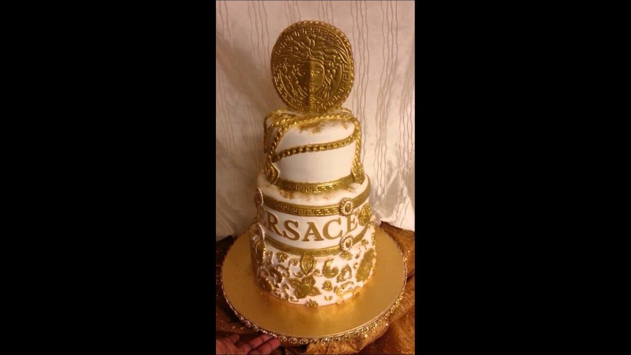 Versace Wedding Cake