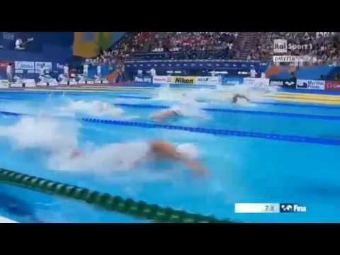 Ryan Lochte Turn World Championships Kazan 2015