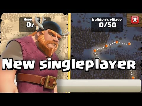 New Singleplayer in Clash of Clans!!! with gameplay (CONCEPT)