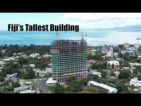 The Tallest Building in Fiji Built by a Chinese Company