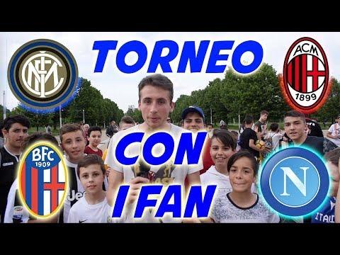 Napoli vs Inter vs Milan vs Bologna - TORNEO Di CALCIO Coi FAN
