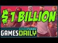 Fortnite Passes 1 Billion Dollars (w/ Mike and Mike) - Kinda Funny Games Daily 07.19.18