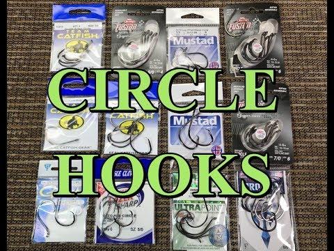 Circle Hooks comparison: Gamakatsu vs Eagle Claw vs Team Catfish vs Tro-Kar vs Mustad vs Berkley