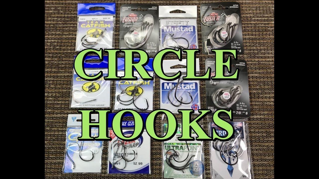 Team Catfish TC81Z-8//0 Double Action Circle Hook Size 8//0