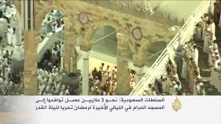 أجواء روحانية بين المصلين بالمسجد الحرام