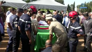 تشييع جنازة الفقيد بوعلام بسايح بمقبرة العالية