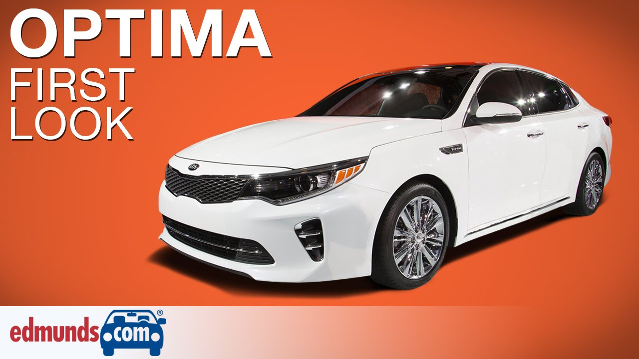 2016 Kia Optima First Look New York Auto Show Edmunds