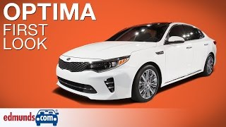 2016 Kia Optima First Look | New York Auto Show