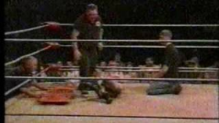 Adam Jacobs vs. Lazz (Non-Match; Iceberg Slim & the NWA Elite Destroy Lazz)