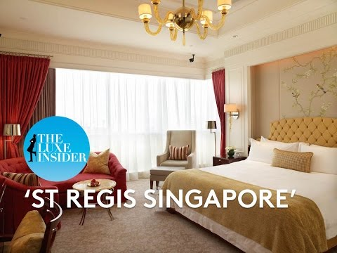 St Regis Singapore | Executive Deluxe Room by The Luxe Insider