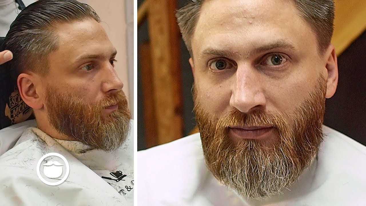 Best Way To Trim A Medium Beard Barbershop Series Youtube