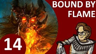 Let's Play Bound By Flame Part 14 - Act 3: Assault on Blackfrost's Palace (PS4 Pyromancer Buffalo)