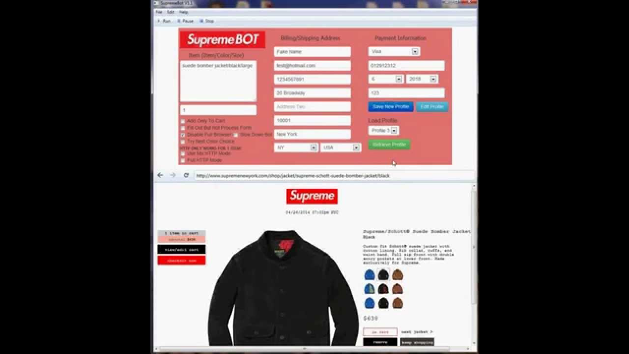 Image result for supreme bot