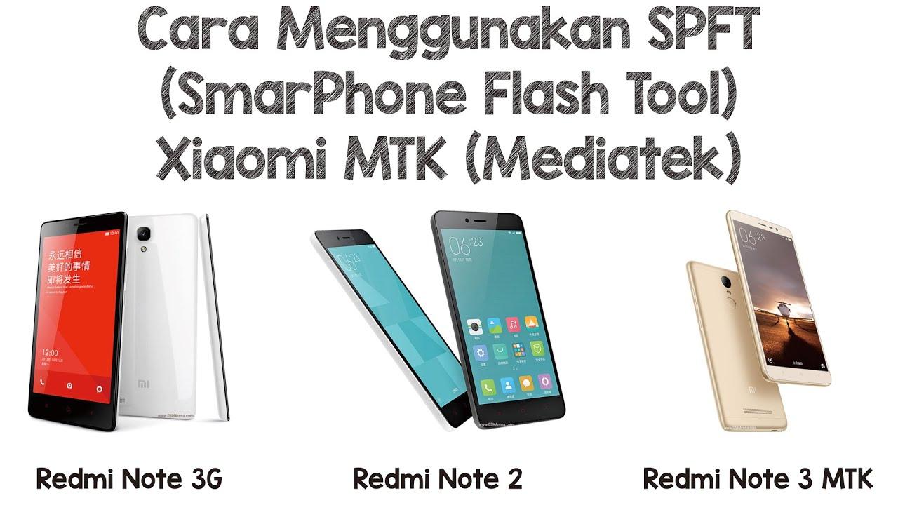 3 Tehnik Flashing Xiaomi MIUI Mediatek - Panduan Flashing