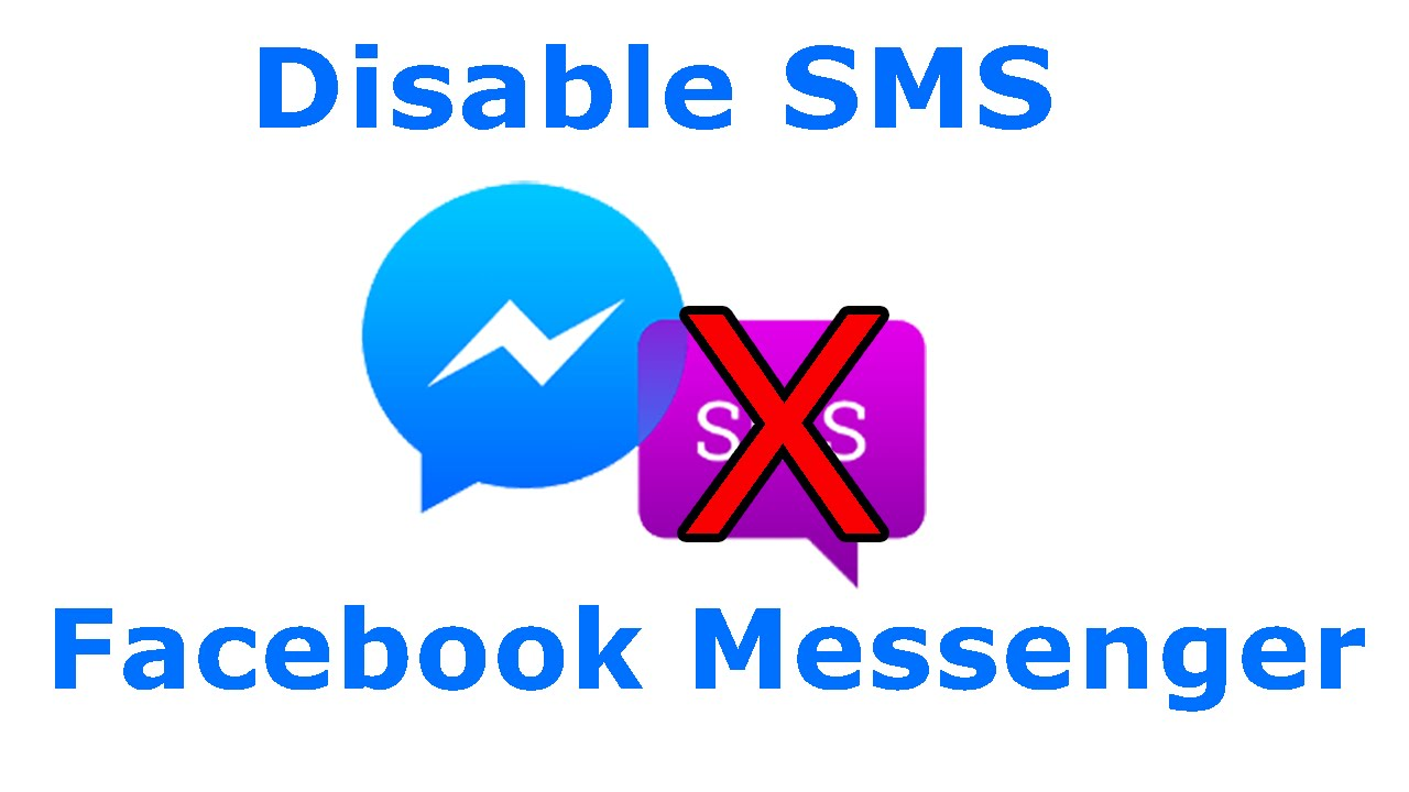 How To Disableturn Off Sms On Facebook Messenger Youtube