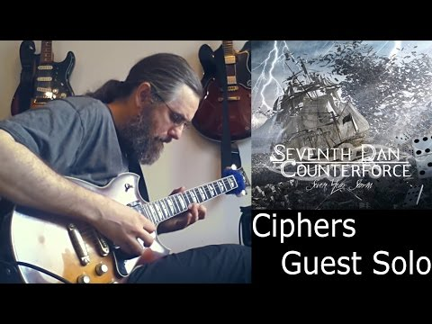 Chris Zoupa 'Ciphers' - Jens Larsen guest solo - Yamaha SG1000