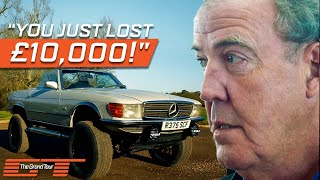 Jeremy Clarkson Auctions Off His Converted Land Rover Sports Car | The Grand Tour