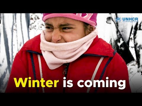 Winter is coming: UNHCR needs your help to shelter refugee families