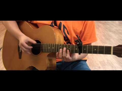 Kim BLue]연애(Love song)   김그림 Guitar slow play