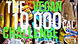 The Dirty 10 000 Calorie VEGAN CHALLENGE | GAINED 5 KG in ONE DAY