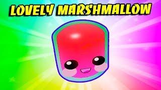MARSHMALLOW ADORÁVEL! O melhor animal de estimação raro do Valentim no simulador da goma de bolha!! Roblox