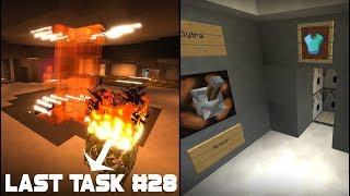 Last Task #28 - Фантомное (НЕВИДИМОЕ) освещение на базе и авто-экипировка вещей!