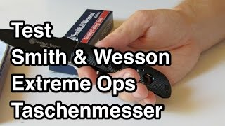 Video Test Smith & Wesson Extreme Ops Taschenmesser | Taschenmesser Test nanokultur.de download MP3, 3GP, MP4, WEBM, AVI, FLV Juni 2017