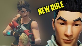 fortnite DEFAULT SKIN ONLY ALLOWED until first win