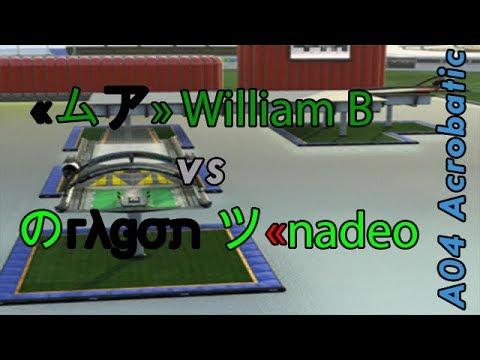 A04 Acrobatic - Comparison LP William B vs. dragon. - Trackmania Nations Forever