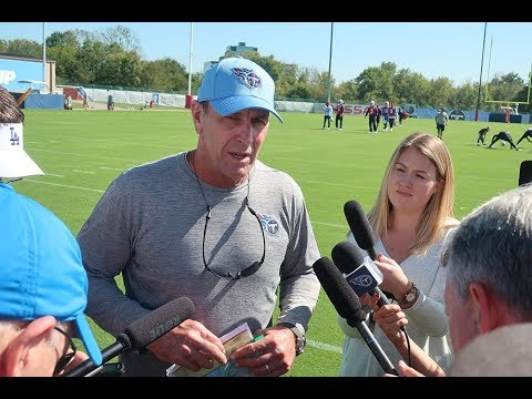 Titans Coach Mike Mularkey Updates Marcus Mariota