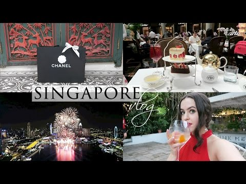 SINGAPORE VLOG 3/3 | BOTANIC GARDENS, HIGH END SHOPPING & NEW YEAR'S EVE | Arabella Golby