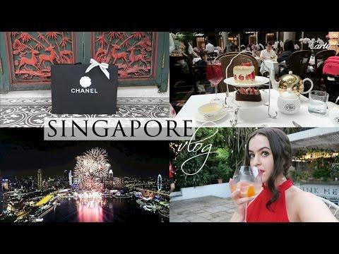 SINGAPORE VLOG 3/3 | BOTANIC GARDENS, HIGH END SHOPPING & NEW YEAR'S EVE | Arabella Golby
