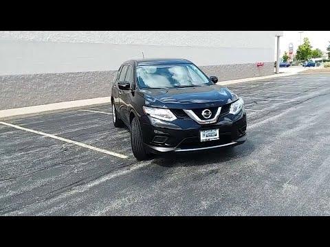 2015 Nissan Rogue Niles, Skokie, Chicago, Evanston, Park Ridge, IL 26887A