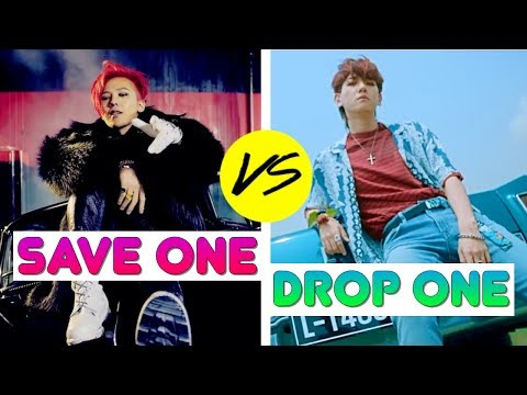 KPOP: SAVE ONE DROP ONE (BOYGROUP EDITION)