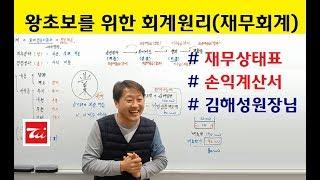 왕초보를 위한 회계원리(재무회계) 재무상태표.손익계산서 - 김해성원장님 (전산회계1급/전산세무2급)