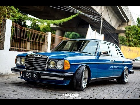 tuning mercedes w123 stance works youtube. Black Bedroom Furniture Sets. Home Design Ideas