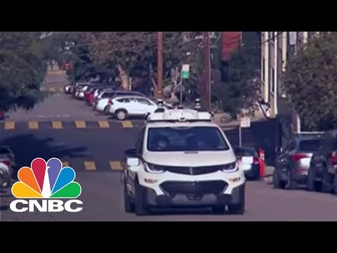 GM Takes Wraps Off Self-Driving Cars | CNBC