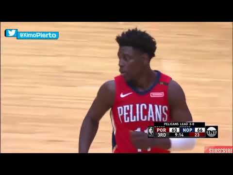 New Orleans Pelicans Team Highlights vs Trail Blazers   Game 4 ¦ April 21, 2018 ¦ 2018 NBA Playoffs