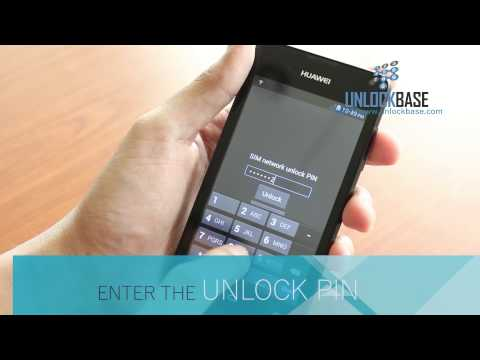 How To Enter Unlock Code In Huawei Ascend Y300