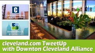 clevelanddotcom & DCA TweetUp @ Aloft CLE